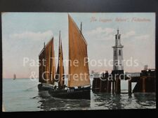 "c1906 Kent: ""The Luggers Return"" Folkestone - Boat Port Registration FE79 / FE58"