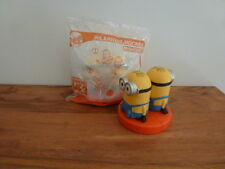 McDonalds Despicable Me 3 Happy Meal MINIONS toy ** HILARIOUS HOCKEY MINIONS **