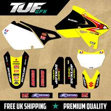 SUZUKI DRZ 400 1999-2018 Full Graphic Kit MX Motocross Enduro Decals OEM Factory