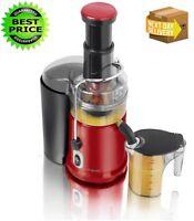 Legend Red Pro 900 W Whole Fruit Power Juicer Vegetable Citrus Juice Extractor
