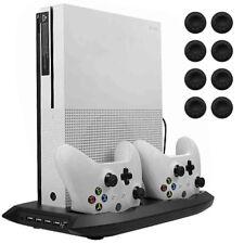 Xbox stand verticale S One STAZIONE RICARICA DUAL CONTROLLER della ventola di raffreddamento titolare