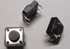 10 x Mini-Taster 12x12mm Printmontage liegend  Drucktaster tact-switch