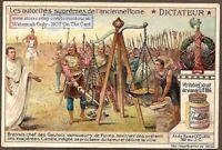 Ancient Roman Dictator Brennus History  c1915 Trade Ad Card