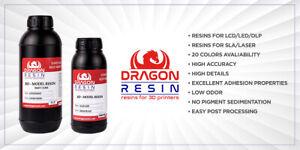 DRAGON RESIN FAST CURE FOR MSLA/LCD/DLP/LED 3D PRINTER