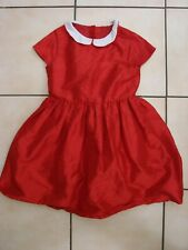 Dress Red M&S 8-9 yrs - With Inner Lining