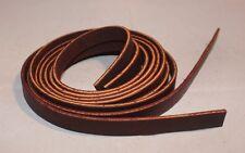 "Lace Leather Saddle Strings - 1/2"" x 36"" - Burgundy Latigo - Pack of 6 (F437)"