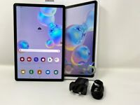 Samsung Galaxy Tab S6 GRAY LTE 4G + Wi-Fi SM-T865 128GB 6GB RAM UNLOCKED   USED