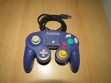 Official Nintendo Gamecube Clear Purple Game Controller