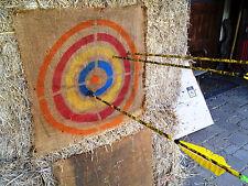 "Metal Archery Target Template Reusable 18"" dia.(use on burlap, straw bails, etc)"
