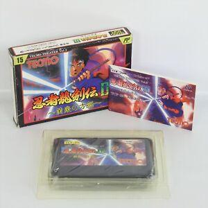 NINJA RYUKENDEN III 3 Famicom Nintendo 2445 fc