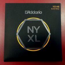 D'Addario NYXL - Set di  Corde Chitarra Elettrica NYXL1046 Scalatura 010 - 046