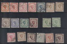 Montenegro 1893-94 Used Collection
