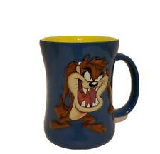 LOONEY TUNES Taz Cup 2007 3D Raised Tasmainian Devil Coffee Mug Expres