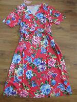 Joe Browns Long Blouse Tunic Dress Size 44 - 50 patterned (479) NEW