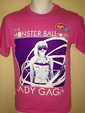 LADY GAGA MONSTER BALL TOUR 2009 WORLD TOUR SMALL  T-SHIRT POP