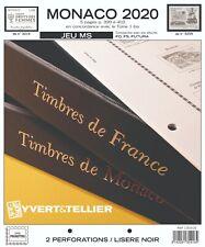 Jeu Monaco Yvert et Tellier MS 2020 (sans pochette)