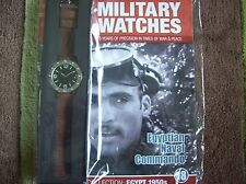 Military Watches Magazine Collection Issue 18 Egyptian Naval Commando 1950s