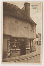Kent postcard - Smugglers Cottage, Herne - P/U 1930 (A1149)