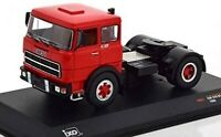 IXO TR057 CAMION Fiat 619 N1 Rouge 1980 Véhicule miniature 1/43