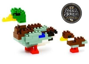 Nanoblock MALLARD DUCK - NBC-061, Level 2, 110 Pieces, NEW