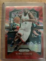 2019-20 Kawhi Leonard RUBY RED WAVE PRIZM🔴 REFRACTOR Raptors Rc! Finals MVP