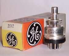 NEW IN BOX GENERAL ELECTRIC 2C42 LIGHTHOUSE TRIODE TUBE / VALVE