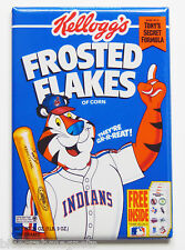 Cleveland Indians Cereal FRIDGE MAGNET (2.5 x 3.5 inches) box frosted flakes