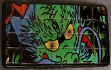 Tiled Belt Buckle Green Scary Monster NEW
