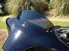 """Harley 6"""" Windshield Dark Tint – / FLH  FLHT FLHX / Bagger / 1996 - 2013"""