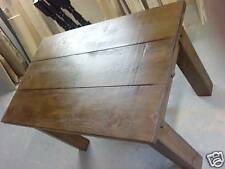 HANDMADE SOLID PINE RUSTIC DINING / KITCHEN TABLE