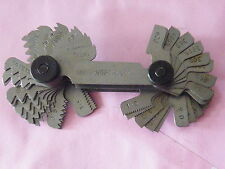 Whitworth BSW & Metric Screw Pitch Gauge. Internal & External Threads etc TP121