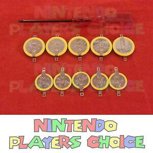 Nintendo GameBoy Batteries CR1616 + CR2025 + Repair Tool INSTRUCTION + US SELLER