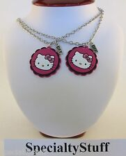 NEW Sanrio HELLO KITTY BFF NECKLACE SET 2 NECKLACES BEST FRIENDS FOREVER (LG)
