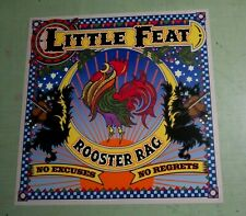 Little Feat Rooster Rag Original Promo Album Flat / Poster