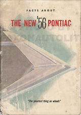 1956 Pontiac Facts Book Chieftain Star Chief Catalina Accessories Dealer Data