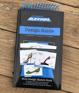 Project Runway Fashion Design Guide Figure Shoe Sketch book Drawing Set Pencils