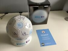 More details for manchester city hand signed football by the 2020/2021 squad with coa