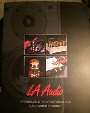 La Audio Marketing Brochure Vg Rare!