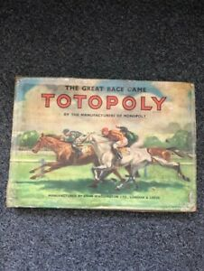 Vintage Original Totopoly Board Game - Select Your Game Pieces & Parts (35)