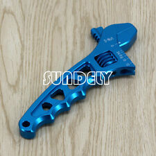 3 4 6 8 10 12-AN Adjustable Spanner Aluminum Anodized Wrench Fitting Tools Blue