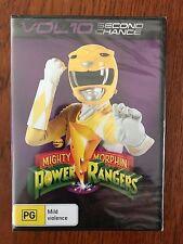 Mighty Morphin Power Rangers DVD Region 4 New & Sealed
