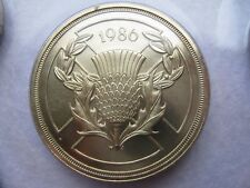BU 1986 British decimal two pound Commonwealth Games £2 coin Uncirculated