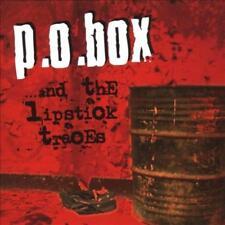 P.O. BOX - ...AND THE LIPSTICK TRACES [PA] * NEW CD