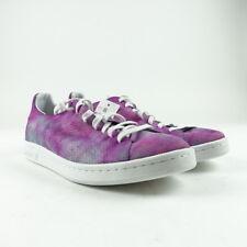 8447df36451 Adidas Men s Shoes Size 9.5 Pharrell Williams Hu Holi Stan Smith MC Purple  DA961