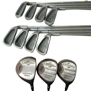Wilson Precision Matrix Midsize Flex Action Steel 3-PW, 1W,3W,5W 11 Clubs Total