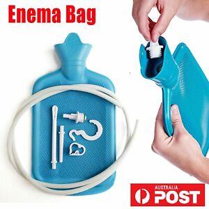 Reusable Adult Colon Cleanse Douche Premium Enema Bag Kit Hot Water NEW 2020