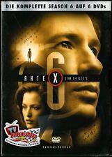 Akte X - Season 6 (Sammel-Edition)  *** neu / OVP / in Folie ***