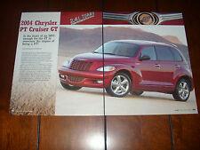 2004 CHRYSLER PT CRUISER GT TURBO -  Original Article