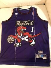Toronto Raptors Tracy McGrady Adidas Swingman NBA Basketball Jersey Mens XL