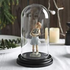 "Decorative Clear Glass Dome/Tabletop Cloche Bell Jar Display Case 5"" X 8.5"""
